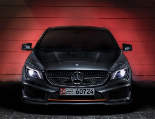 Mercedes-Benz CLA 250 Orange Edition